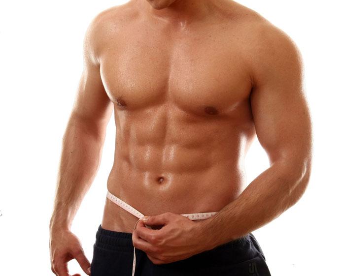 marcacion abdominal six pack